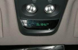 車内の燃費計